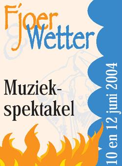 Muziekspektakel Fjoer & Wetter